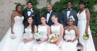 T Rose international bridal show