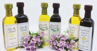 Manassas Olive Oil Co., wedding favors
